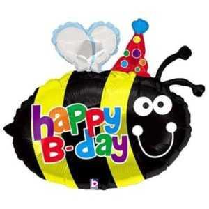 Фигура, Пчелка с Днем Рождения, 69см