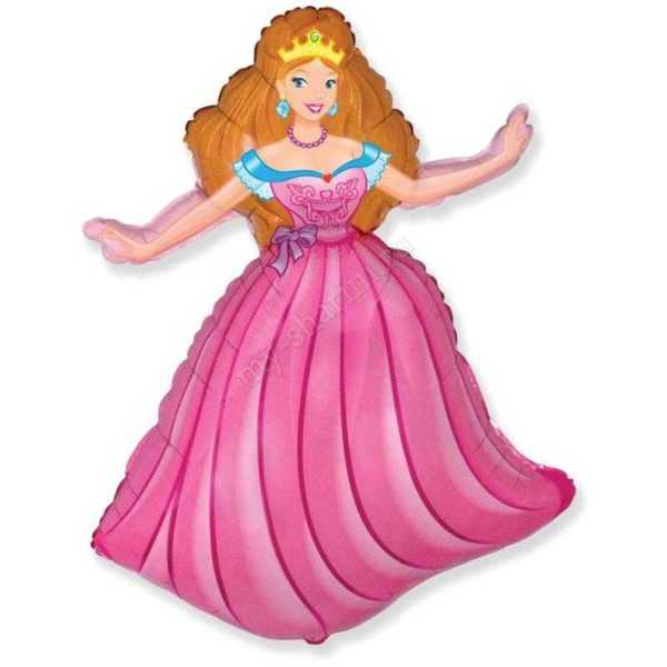 Фигура, Принцесса, Розовый, 99см
