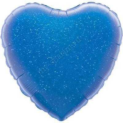 Сердце, голография 46 см