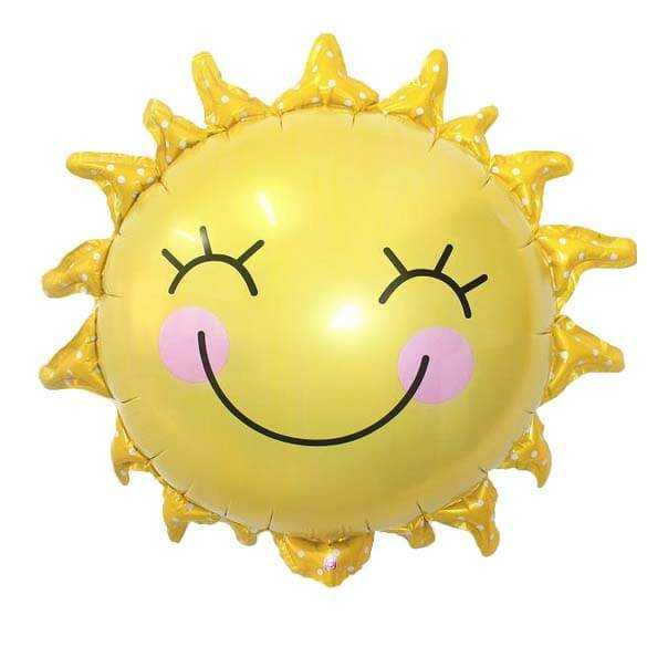 Солнышко улыбка 66 см