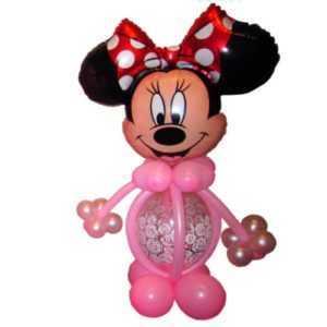 Минни Маус из шаров