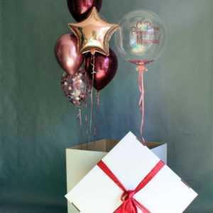 Коробка с шарами №6