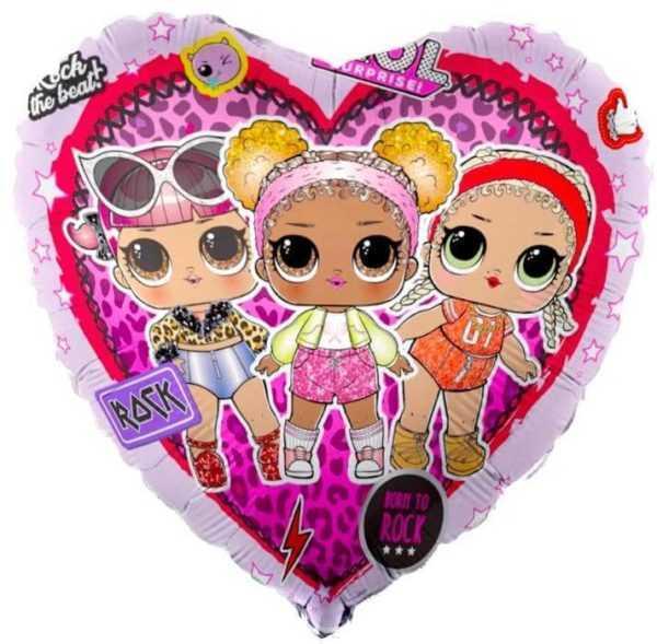 Сердце, Кукла ЛОЛ (LOL), Стильные подружки, 46см