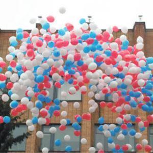 Запуск шариков на мероприятии