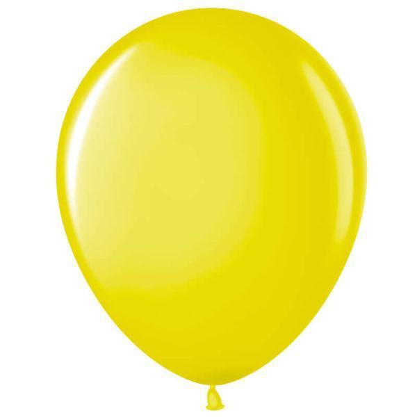 Шар Желтый, пастель