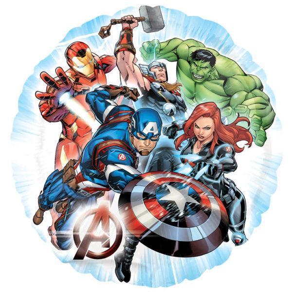 Шар Мстители команда