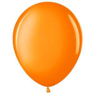Шар Оранжевый , пастель