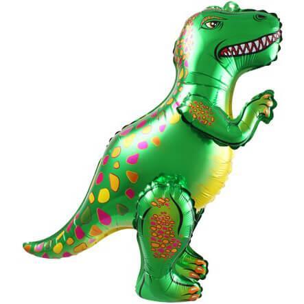 Ходячая Фигура, Динозавр Аллозавр, Зеленый, 64 см