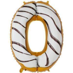 Цифра, 0, Пончик, 86см, 1шт.